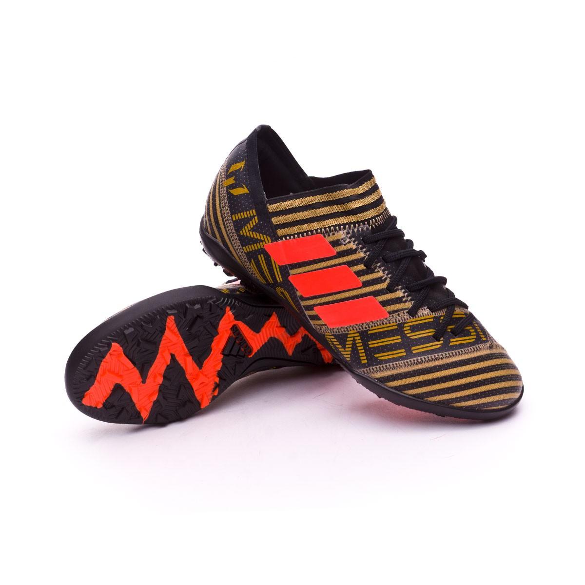 448dd62b08dfe Football Boot adidas Kids Nemeziz Messi Tango 17.3 Turf Core black ...