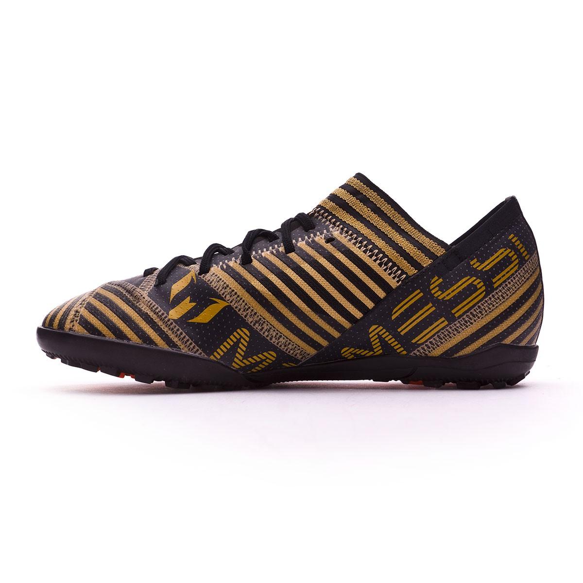 c0726c64ac059 Zapatilla adidas Nemeziz Messi Tango 17.3 Turf Niño Core black-Solar  red-Tactile gold metallic - Tienda de fútbol Fútbol Emotion
