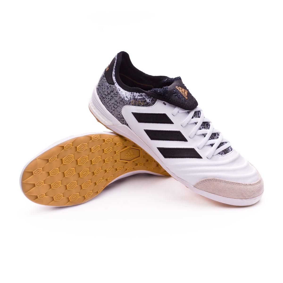 Futsal Boot adidas Copa Tango 18.1 IN White-Core black-Tactile gold ... af907e248