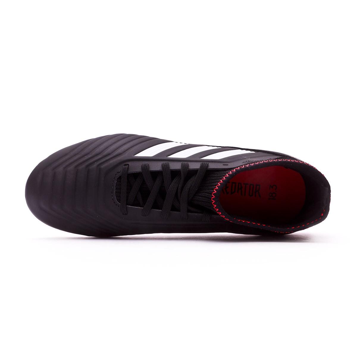 2640b13b23a Football Boots adidas Kids Predator 18.3 FG Core black-White-Gold  metallic-Solar red - Football store Fútbol Emotion