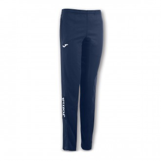 Tracksuit bottoms  Joma Woman Long Champion IV  Navy blue