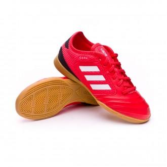 Futsal Boot  adidas Kids Copa Tango 18.3 TopSala Red