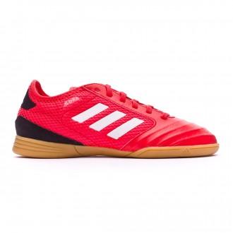 Sapatilha de Futsal  adidas Copa Tango 18.3 TopSala Crianças Vermelho