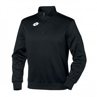 Sweatshirt Lotto Delta 1/2 cremallera Black