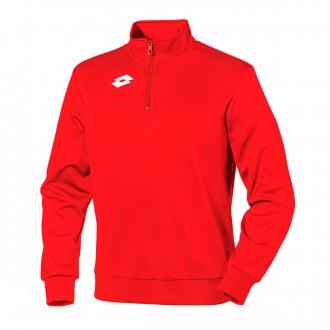 Sweatshirt Lotto Delta fecho 1/2 Crianças Red