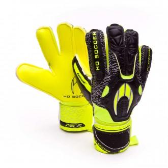 Luvas  HO Soccer Basic Protek Lime-Black