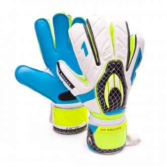 Guanti  HO Soccer One Flat Blue-White
