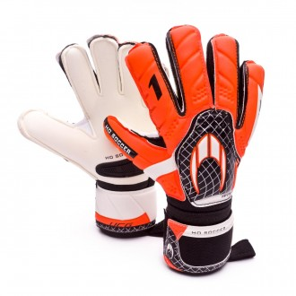 Guante  HO Soccer One Flat Protek Orange-Black