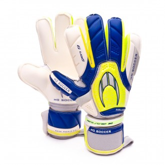 Guante  HO Soccer Aquagrip GEN9 Blue-Yellow