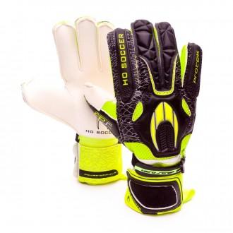 Luvas  HO Soccer Protek Flat GEN2 Black-Yellow