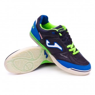 Futsal Boot  Joma Top Flex Blue-Navy blue-Black