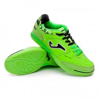 Sapatilha de Futsal  Joma Top Flex Verde flúor