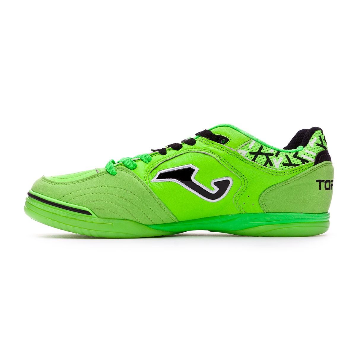 Joma Zapatilla Top Flex Verde Fluor-Naranja Talla 7,5 USA