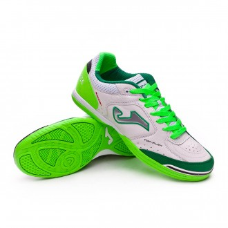 Chaussure de futsal  Joma Top Flex Blanc-Vert