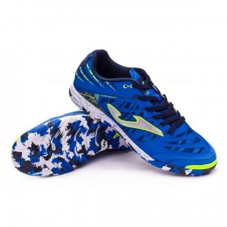 Sapatilha de Futsal  Joma Super Regate Azul