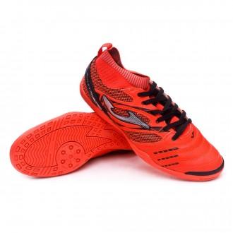 Chaussure de futsal  Joma Knit Naranja flúor
