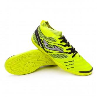 Chaussure de futsal  Joma Knit Jaune Fluor