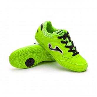 Chaussure de futsal  Joma Top Flex Niño Lime