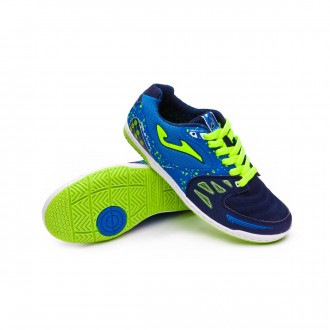 Futsal Boot  Joma Kids Sala Max  Blue