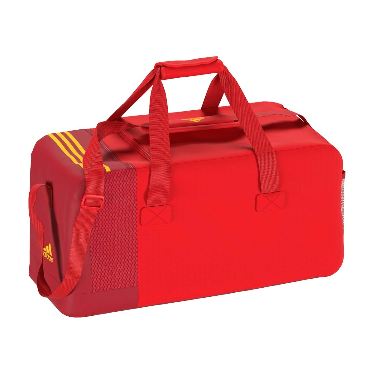 989511eb3a Bag adidas Spain 2017-2018 Power red-Gold - Football store Fútbol ...