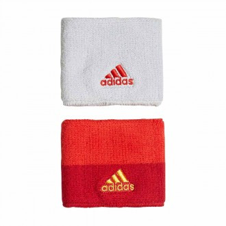 Polsino  adidas Spagna 2017-2018 Power red-Gold