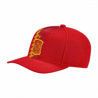 Gorra  adidas España 2017-2018 Power red-Gold