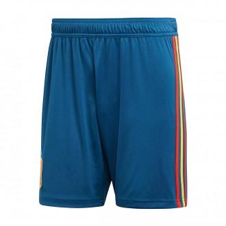 Pantalón corto  adidas España Primera Equipación 2017-2018 Tribe blue-Red-Gold