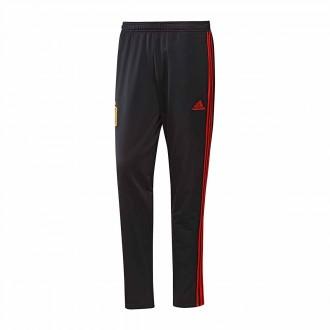 Pantalón largo  adidas Paseo España 2017-2018 Black-Red