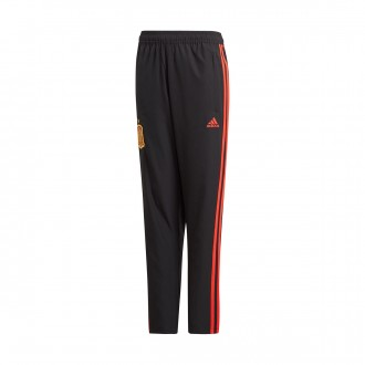 Pantalón largo  adidas Training España 2017-2018 Niño Black-Red