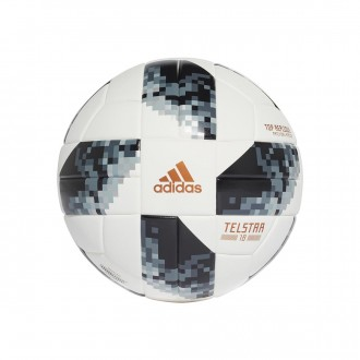 Bola de Futebol  adidas World Cup Top Replique Telstar Xmas White-Black-Silver metallic