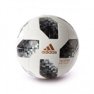 Balón  adidas World Cup OMB Telstar Rusia 2018 White-Black-Silver metallic