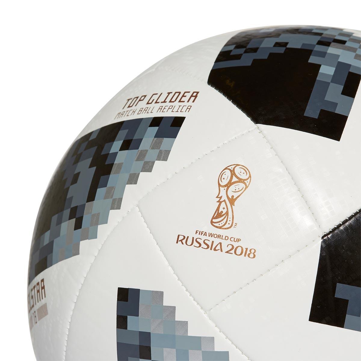 edf719fa0 Ball adidas World Cup Top Glider Telstar White-Black-Silver metallic -  Football store Fútbol Emotion
