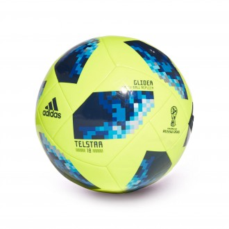Bola de Futebol  adidas World Cup Glider Telstar Solar yellow-Solar blue-Broyal