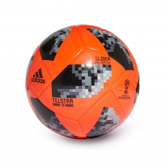 Bola de Futebol  adidas World Cup Glider Telstar Solar red-Black-Silver metallic