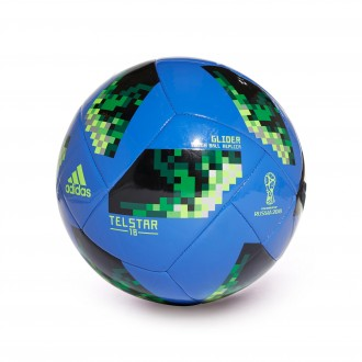 Bola de Futebol  adidas World Cup Glider Telstar Hi-res blue-Solar green-Silver metallic