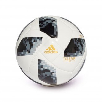 Ballon  adidas World Cup 5X5 Telstar White-Black-Silver metallic
