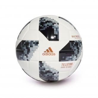Balón  adidas World Cup Sala Training Telstar White-Black-Silver metallic