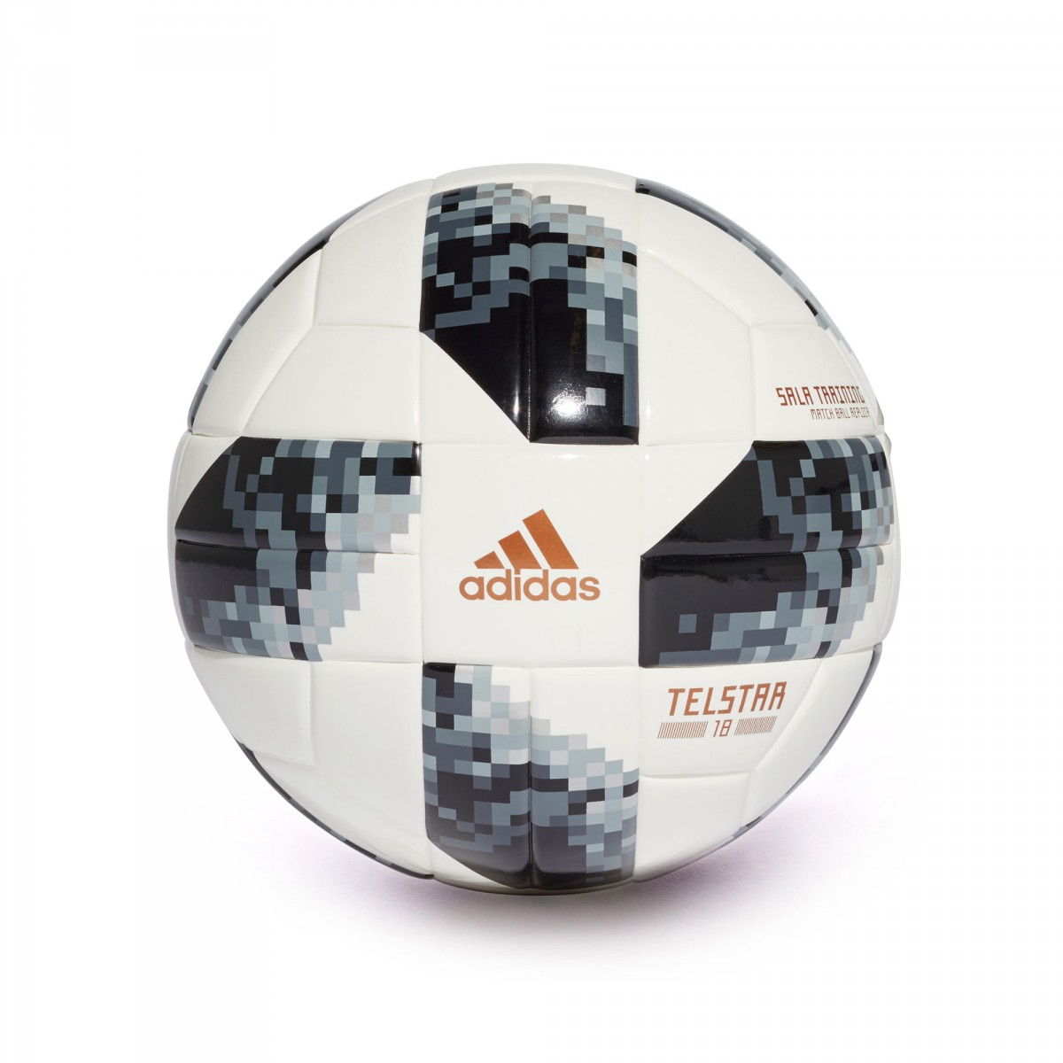 030893a60 adidas World Cup Sala Training Telstar Ball. White-Black-Silver metallic ...
