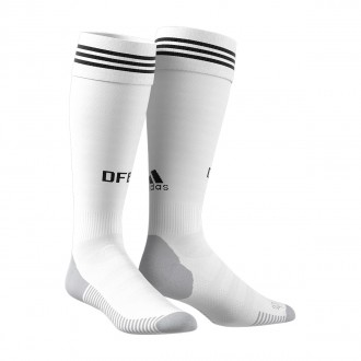 Football Socks adidas Germany 2017-2018 Home White-Black