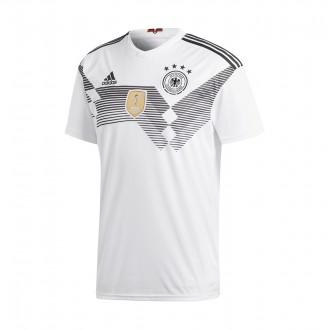 Camiseta  adidas Alemania Primera Equipación 2017-2018 White-black