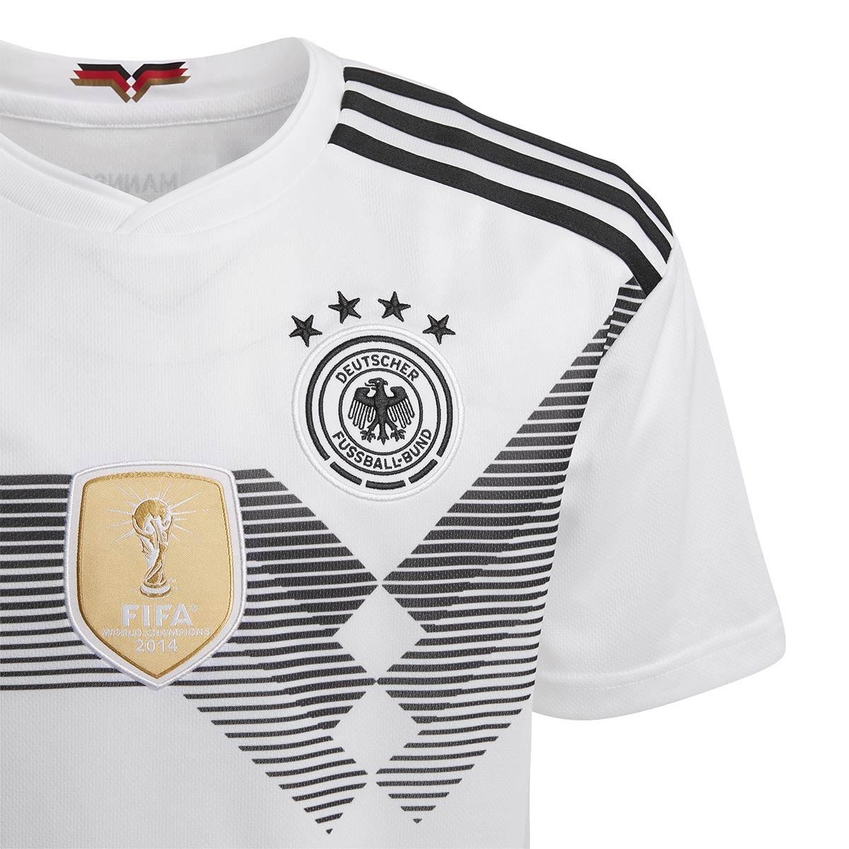 44acf2aeb Jersey adidas Kids Germany 2017-2018 Home White-Black - Football store  Fútbol Emotion