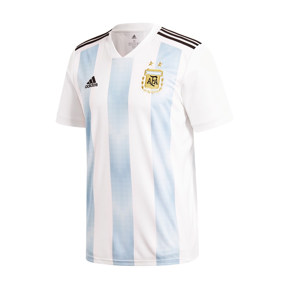 4cb51ac2ee3f Jersey adidas Argentina 2017-2018 Home White-Claer blue-Black ...
