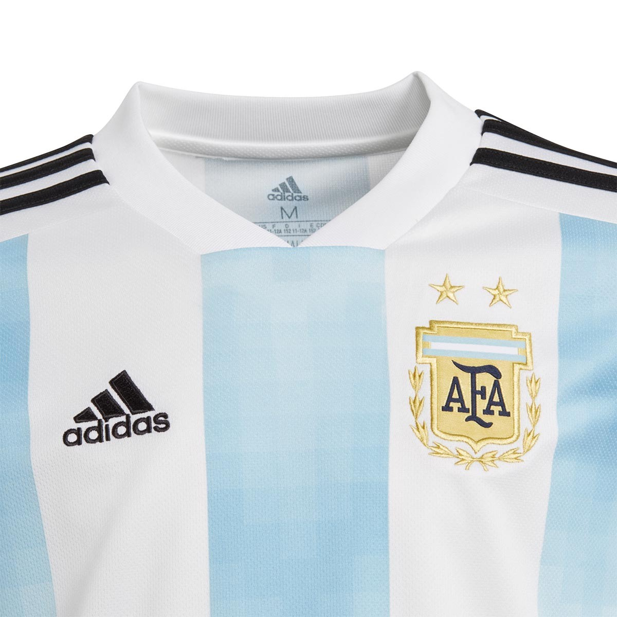 812476643e Jersey adidas Kids Argentina 2017-2018 Home White-Clear blue-Black -  Football store Fútbol Emotion