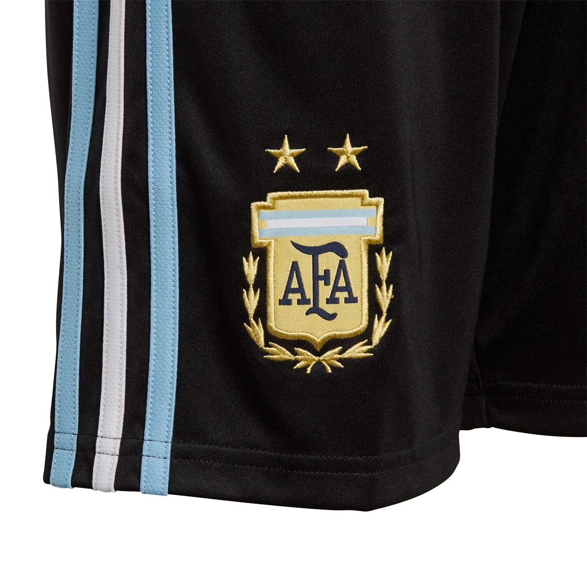 94b47d8f8 Shorts adidas Kids Argentina 2017-2018 Home Black-Clear blue-White - Tienda  de fútbol Fútbol Emotion