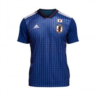 Camiseta  adidas Japón Primera Equipación 2017-2018 Night blue-White