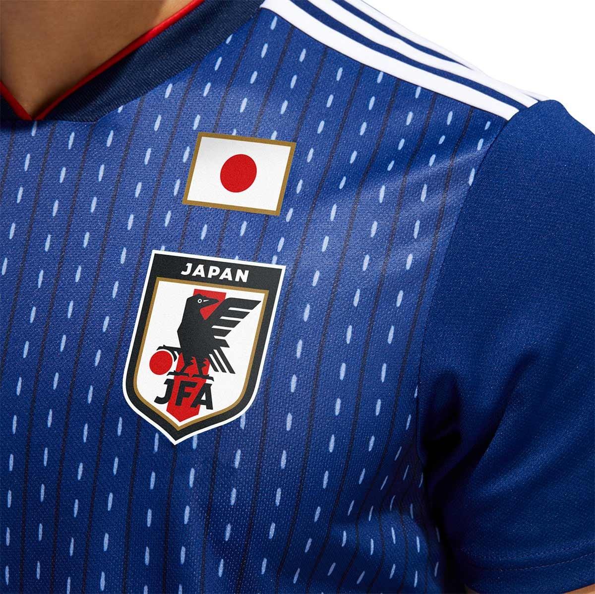 Camiseta adidas Japón Primera Equipación 2017-2018 Night blue-White -  Soloporteros es ahora Fútbol Emotion 25c333c0bb84f
