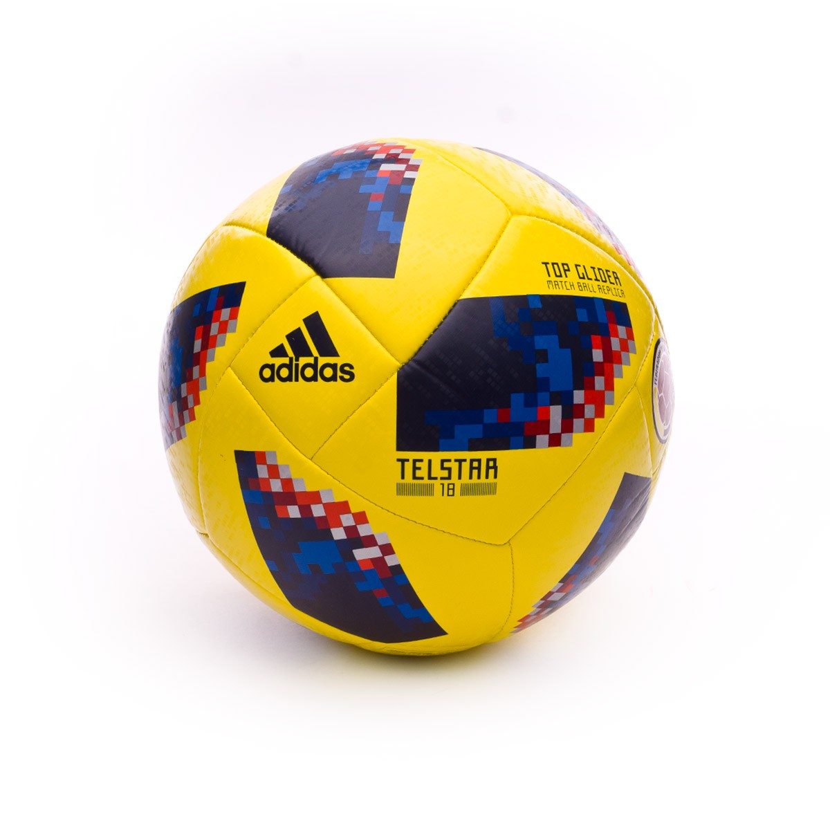 Ball adidas World Cup 18 Colombia Telstar 2017-2018 Yellow-Collegiate navy  - Soloporteros es ahora Fútbol Emotion 52ad7b999a47b