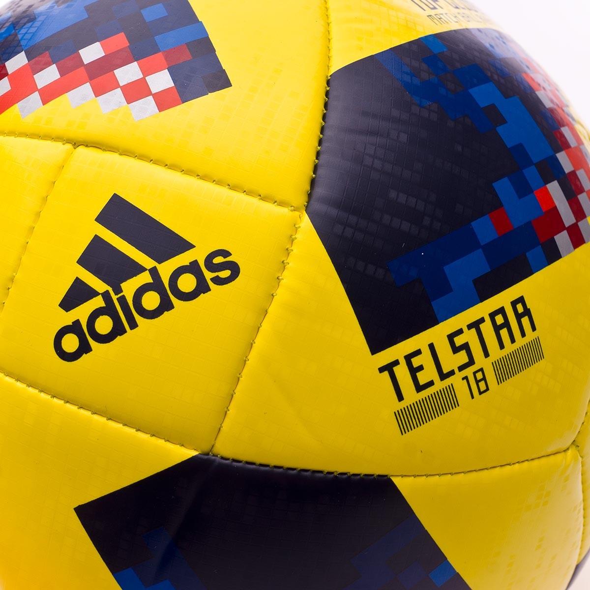 6b2c8711773 Ball adidas World Cup 18 Colombia Telstar 2017-2018 Yellow-Collegiate navy  - Tienda de fútbol Fútbol Emotion