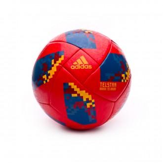 Bola de Futebol  adidas World Cup 18 Espanha 2017-2018 Red-Gold