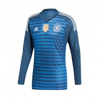 Jersey  adidas Germany Goalkeeper 2017-2018 Home Trace royal-Blue-White